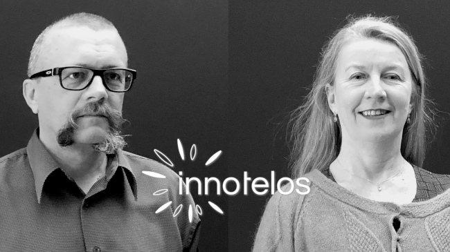 Anne Munchenbach + Didier Lebouc cofondateurs de innotelos | vitamines pour l'innovation (Grenoble / Isère, Lyon / Rhône, Chambéry / Savoie, Auvergne Rhône Alpes, France)