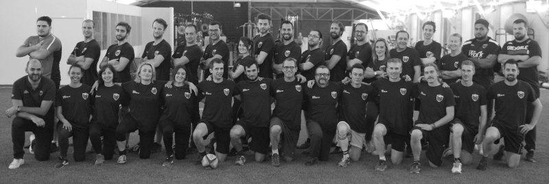 l'équipe d'entrepeneurs du XV des start-up du FCG Grenoble Rugby - innotelos | vitamines pour l'innovation et le rugby (Grenoble)