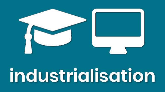 formation 3 heures pour être à l'aise avec l'industrialisation à distance en ligne remboursée par FNE aux salariés en activité partielle