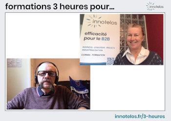 Anne Munchenbach et Didier Lebouc cofondateurs de innotelos | vitamines pour l'innovation (Grenoble / Isère, Lyon / Rhône, Chambéry / Savoie, Auvergne Rhône Alpes)