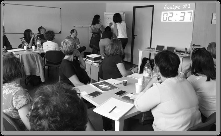 """innotelos a animé la conférence """"l'innovation agile expliquée à ma grand-mère et à mes enfants"""" à Annecy-Seynod (Haute Savoie) le 4 juin 2018"""