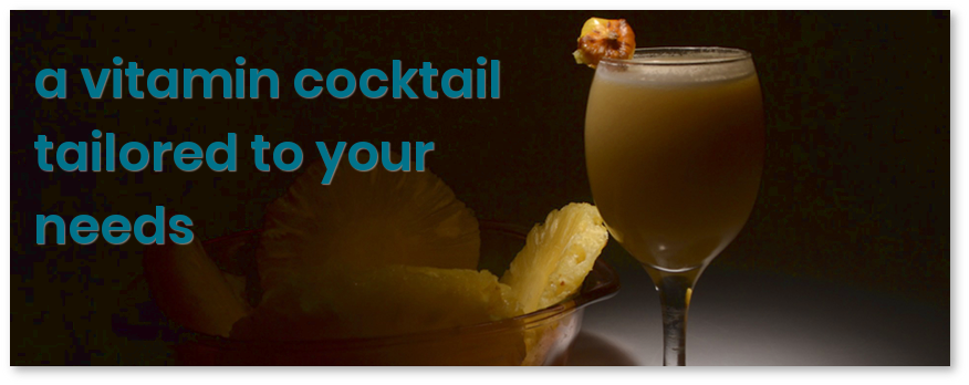 a vitamin cocktail tailored to your needs (image eric_tm_r / Pixabay)