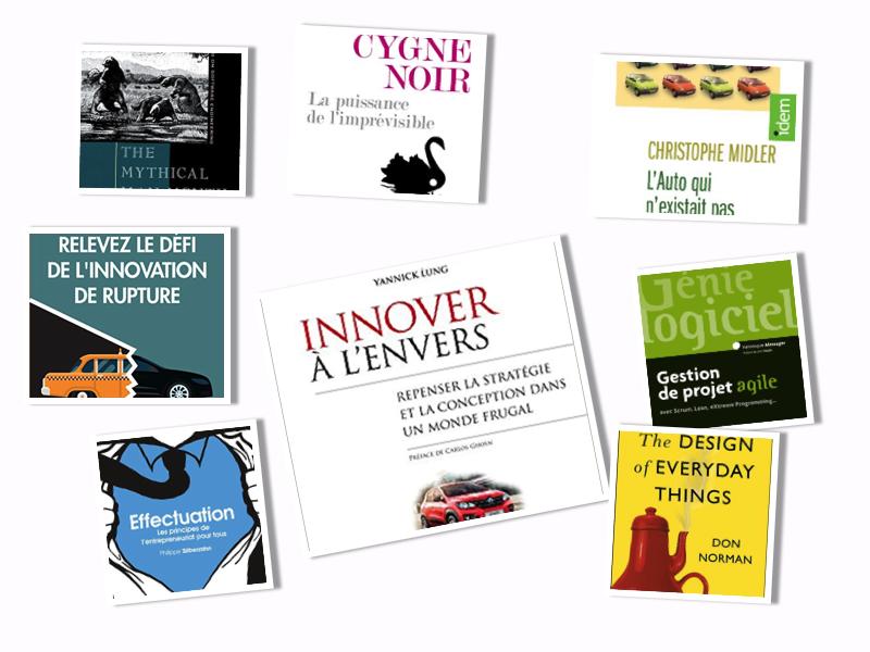la bibliothèque de l'innovateur agile par innotelos | vitamines pour l'innovation (Grenoble, Isère, France)