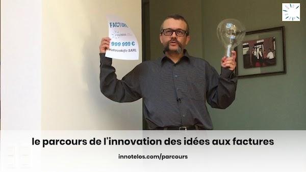 le parcours de l'innovation des idées aux factures - formation aux bases de la réussite de l'innovation - innotelos | vitamines pour l'innovation (Grenoble / Isère et Lyon / Rhône - Auvergne Rhône Alpes AURA)