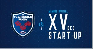 innotelos au showroom du XV des startups du FCG Grenoble Rugby au stade des Alpes le 2 ou 3 avril 2020