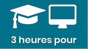 formations 3 heures à distance en ligne remboursées par FNE aux salariés en activité partielle